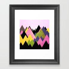 Moutains 3 Framed Art Print
