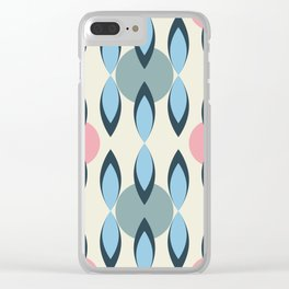 Drapery Clear iPhone Case