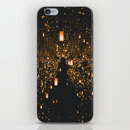 Lighted Lanterns iPhone Skin