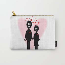 Valentine Lovers Carry-All Pouch