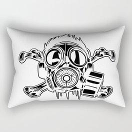 Gasmask Rectangular Pillow