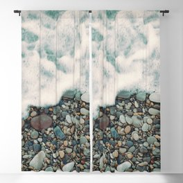 A Beautiful Spring Day at the Beach IV Blackout Curtain