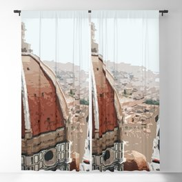 Masterpiece of Florence! Blackout Curtain