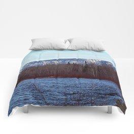 Mont Albert in the Spring Comforters