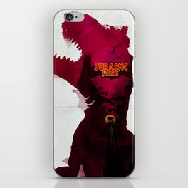 Inspired Movie Poster #2: Jurassic Park (1993) iPhone Skin