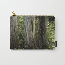 Ancient Cedar Forest Carry-All Pouch