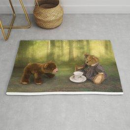 Teddy Bear Tea Party Rug