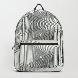 Optical Vibrations in Black and White Backpack