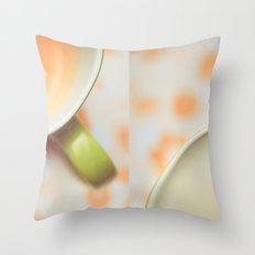 Opposites Love - Coffee Throw Pillow