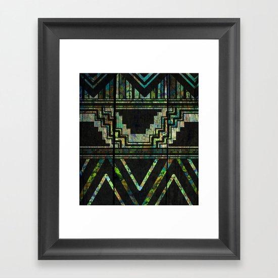 Pride Of The Natives Framed Art Print