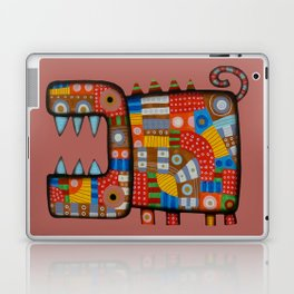 Dog hippo Laptop & iPad Skin
