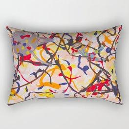 Pollock's workshop Rectangular Pillow