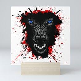 Wolf of Odin Mini Art Print