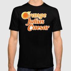 Orange Julius Caesar Black MEDIUM Mens Fitted Tee
