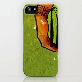 For you - green iPhone Case