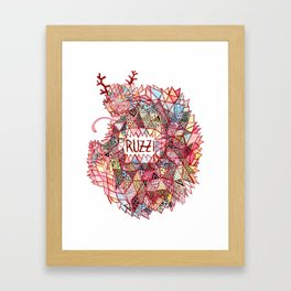 Ruzzi # 001 Framed Art Print