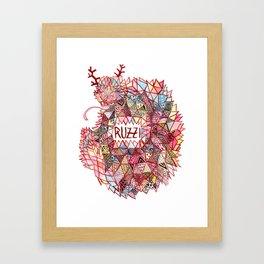 Ruzzi # 001 Framed Art Print