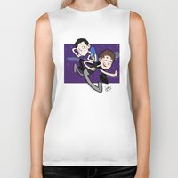 phil jones Biker Tanks featuring Dan & Phil by gabitozati
