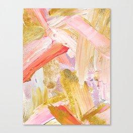 Shiloh - Abstract Contemporary Brushstrokes Canvas Print
