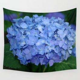 Blue hydrangea Wall Tapestry