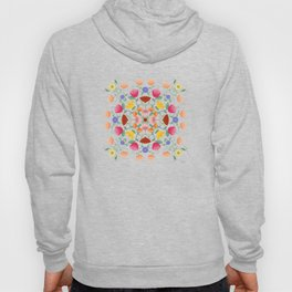A Symphony Of Floral Delights Hoody