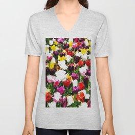 Full spring colors Unisex V-Neck