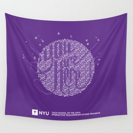 YOU ARE HERE [Funfetti Violet] Wall Tapestry