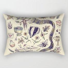 Hufflepuff, Loyal and True Rectangular Pillow