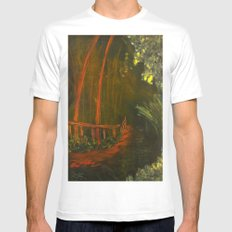 The Journey Mens Fitted Tee MEDIUM White