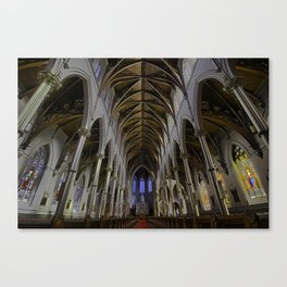 CATHEDRAL OF THE HOLY CROSS, BOSTON MA Canvas Print