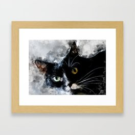Cat Jagoda art Framed Art Print