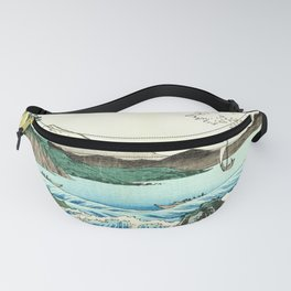 The Great Wave. The Sea At Satta Fanny Pack