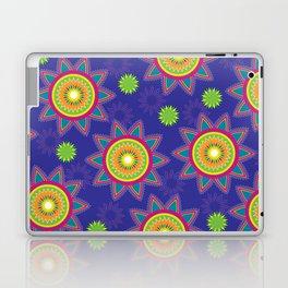 Moroccan Flower Purple Laptop & iPad Skin