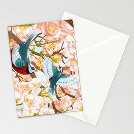The seasons | Spring birds Stationery Cards