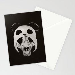 Panda Skull Stationery Cards
