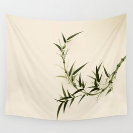 Oriental bamboo 006 Wall Tapestry