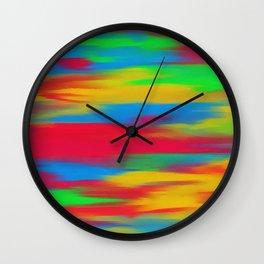 Abstracted mixed Wall Clock