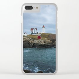 Ghosts on the Horizon Clear iPhone Case