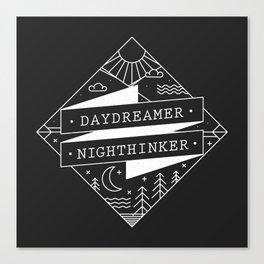 daydreamer nighthinker Canvas Print