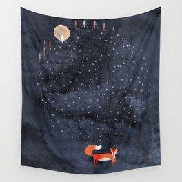 Fox Dream Wall Tapestry