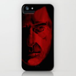 The Great Red Dragon iPhone Case