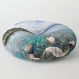 Tranquility  Floor Pillow