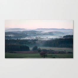 until the black forest Canvas Print