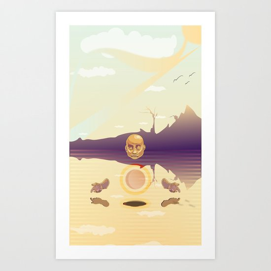 Center Art Print