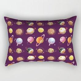 Fast Food Planets Rectangular Pillow