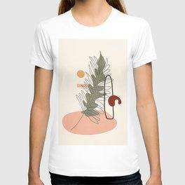Minimal Line Palm T-shirt