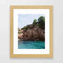 Deià I Framed Art Print