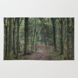 Footpath through the Oaks Rug