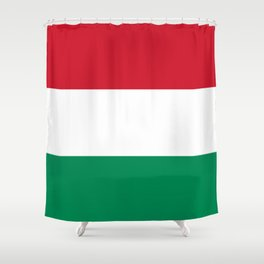 Flag of Hungary Shower Curtain