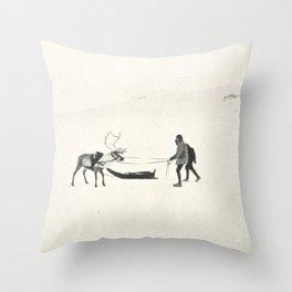 Winter Spirit #prints Throw Pillow